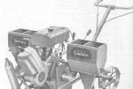 Coltivatrice Sarchiatrice Motorizzata